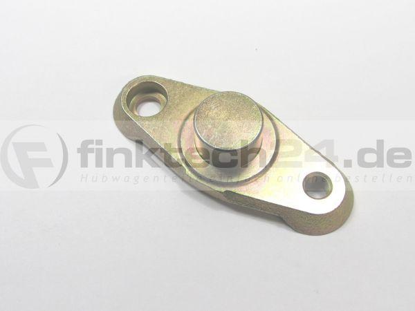 Radhalterung Tandem Linde 30 mm