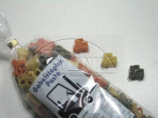 Gabelstaplerpasta 3-farbig 250g