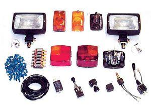 Beleuchtung Nachrüstsatz 12 oder 24 V