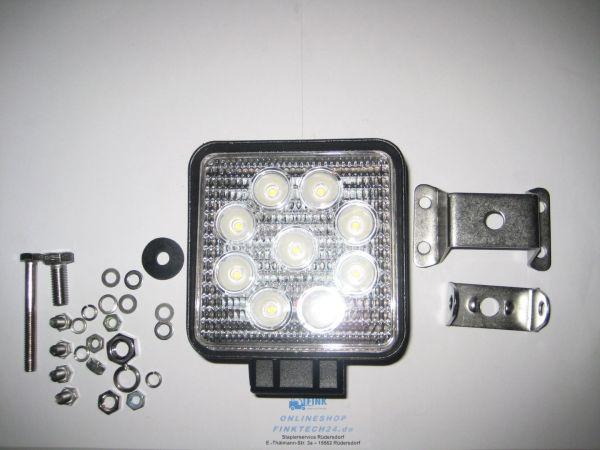 LED Arbeitsscheinwerfer 9-36 V